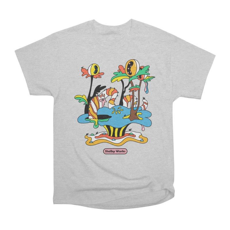 Caterpillar Man Men's T-Shirt by Shelby Works