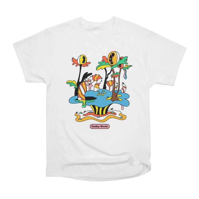 Caterpillar Man Men's Heavyweight T-Shirt by Shelby Works