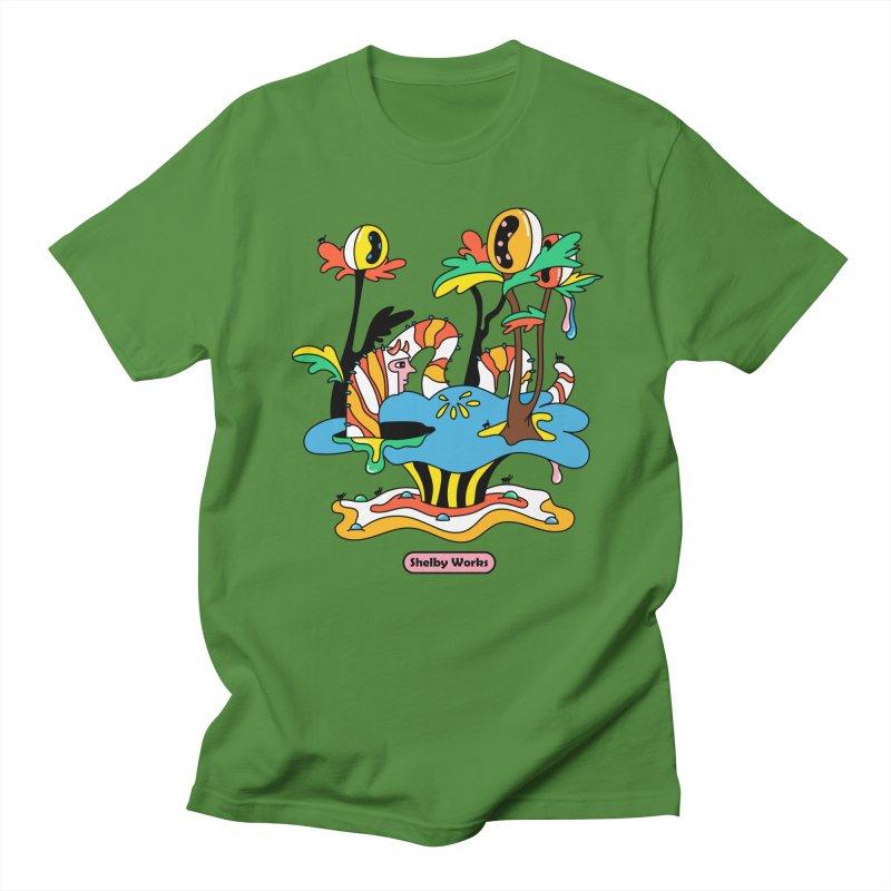 Caterpillar Man Women's Regular Unisex T-Shirt by Shelby Works