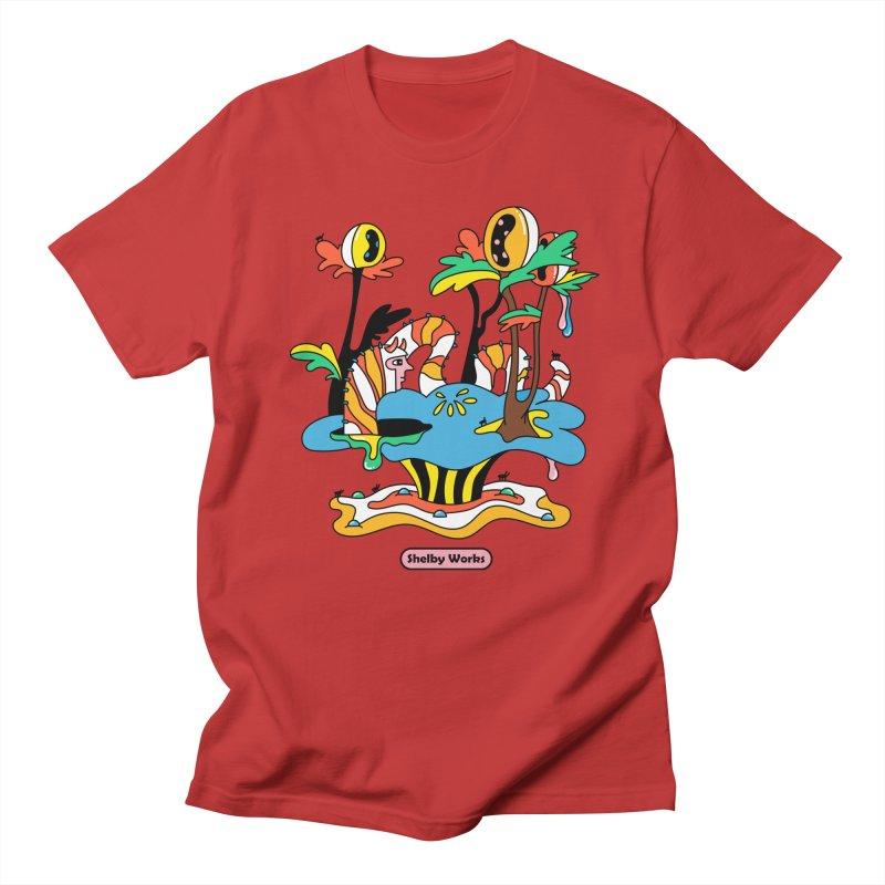 Caterpillar Man Men's Regular T-Shirt by Shelby Works