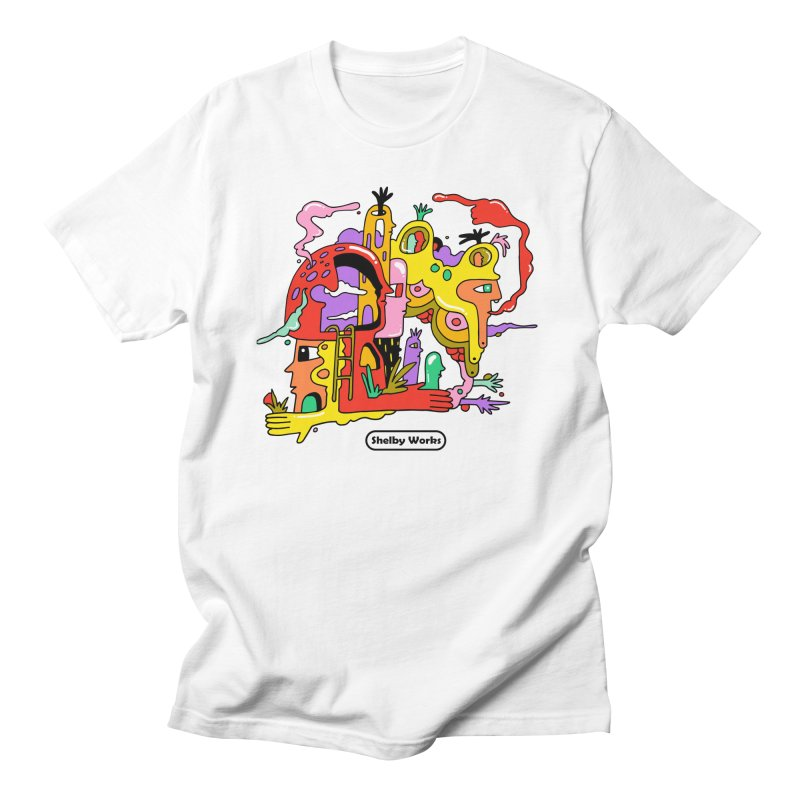 Head in the Clouds Men's T-Shirt by Shelby Works