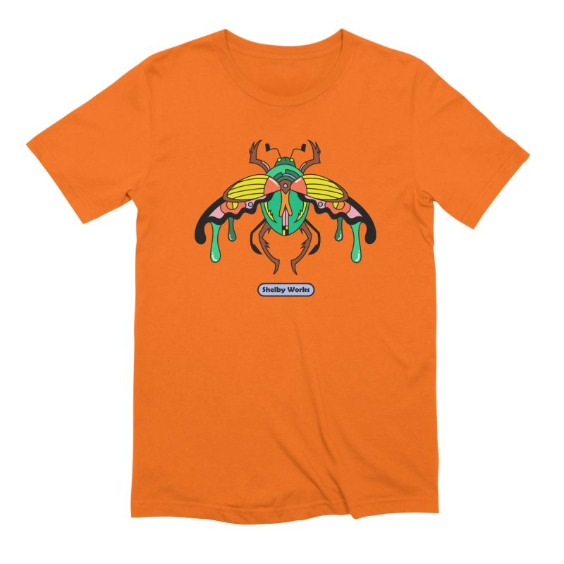 Beetle Sees Men's Extra Soft T-Shirt by Shelby Works