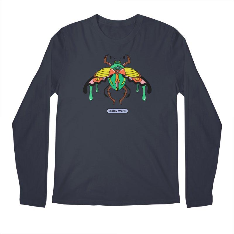 Beetle Sees Men's Regular Longsleeve T-Shirt by Shelby Works