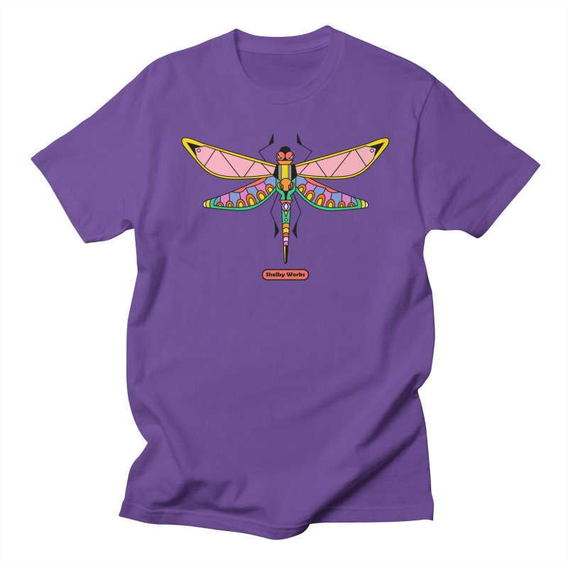 Kaleidoscope Fly Women's Regular Unisex T-Shirt by Shelby Works