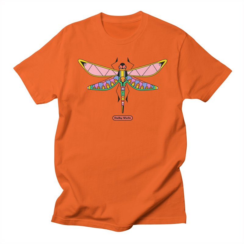 Kaleidoscope Fly Men's T-Shirt by Shelby Works
