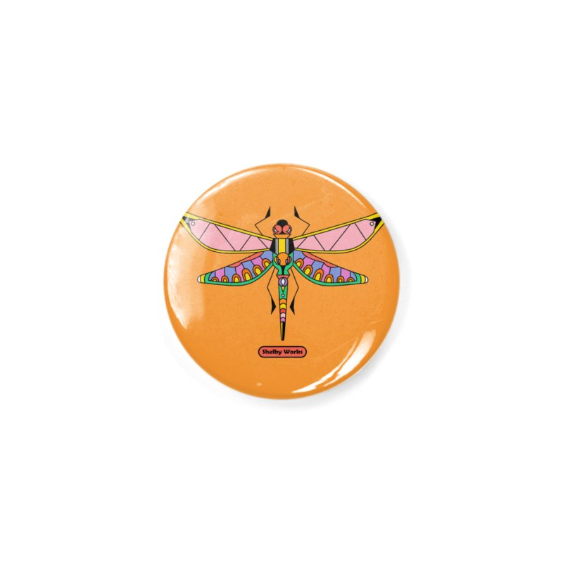 Kaleidoscope Fly Accessories Button by Shelby Works