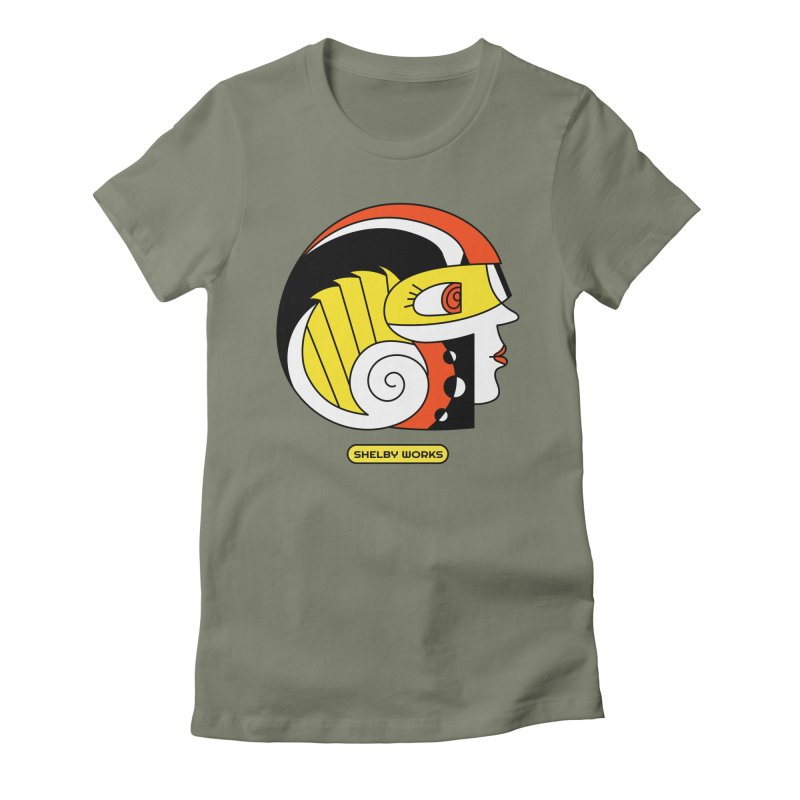 AVA! Women's Fitted T-Shirt by Shelby Works