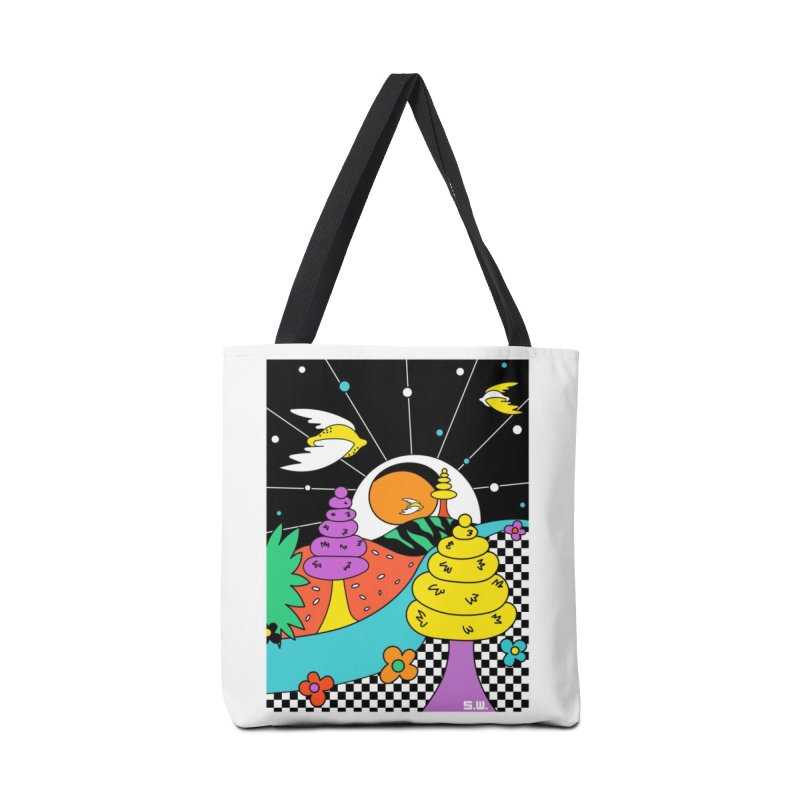 Planet Never Ever Accessories Tote Bag Bag by Shelby Works