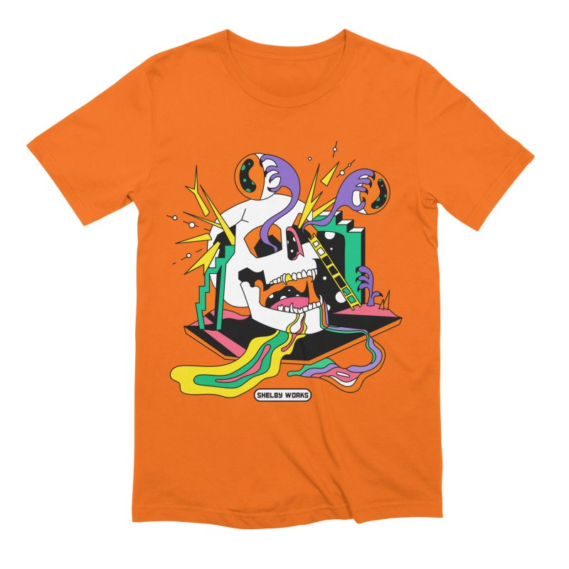 Funky Frights Men's Extra Soft T-Shirt by Shelby Works
