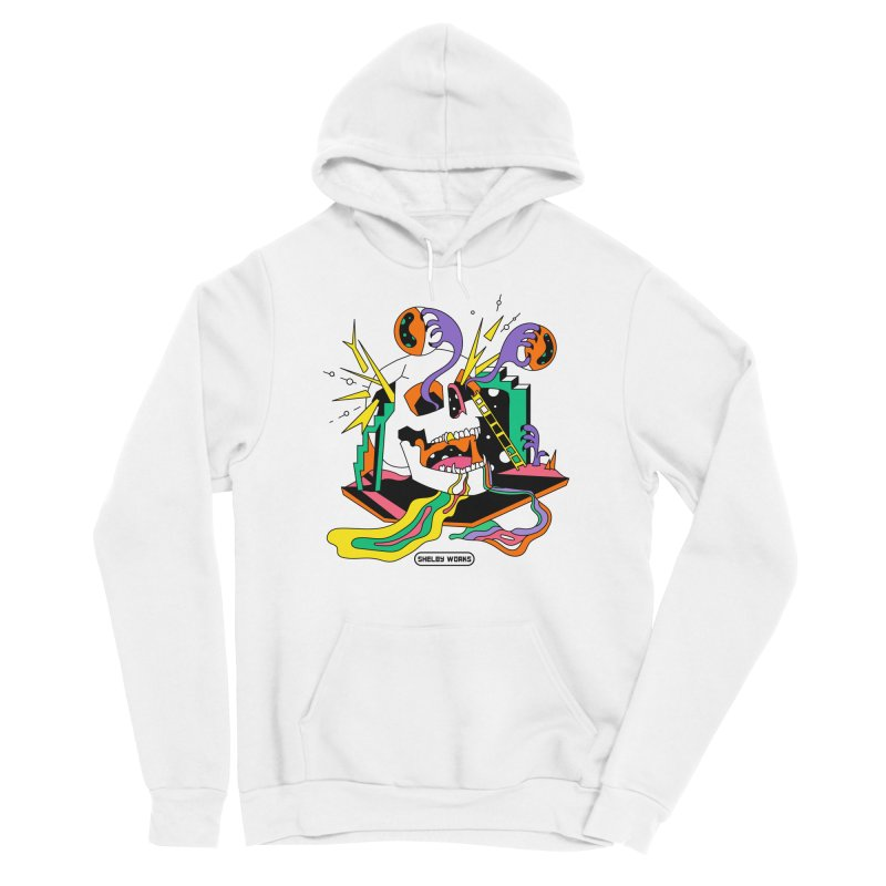 Funky Frights Men's Sponge Fleece Pullover Hoody by Shelby Works
