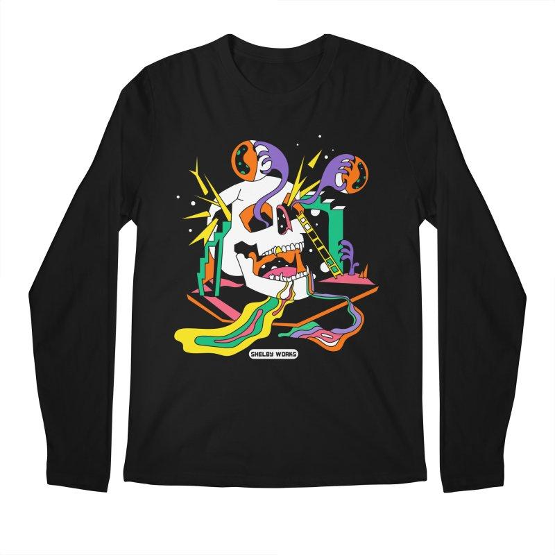 Funky Frights Men's Regular Longsleeve T-Shirt by Shelby Works
