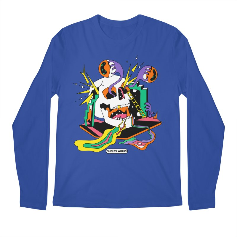 Funky Frights Men's Regular Longsleeve T-Shirt by Shelby Works