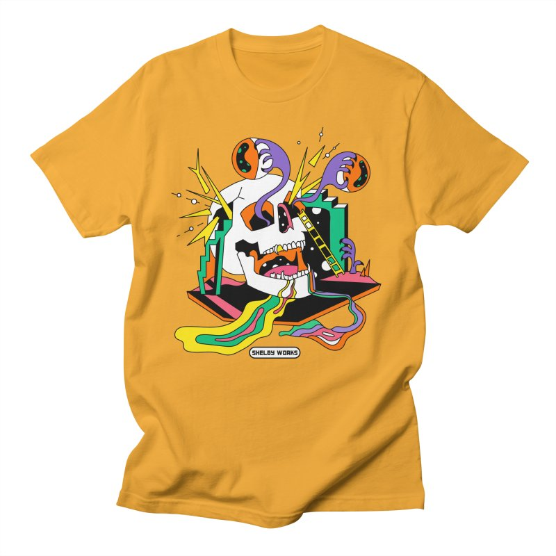 Funky Frights Women's Regular Unisex T-Shirt by Shelby Works