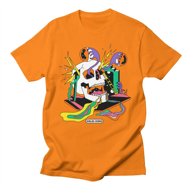 Funky Frights Men's Regular T-Shirt by Shelby Works