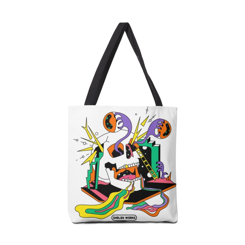 Funky Frights Accessories Tote Bag Bag by Shelby Works