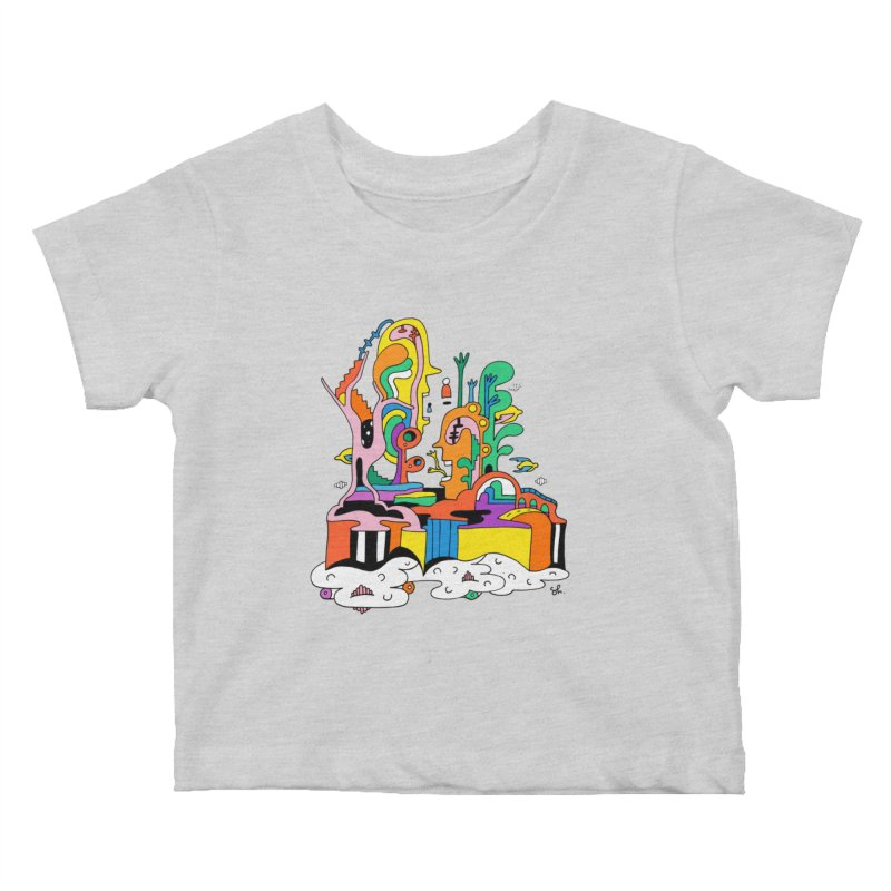 Plant Eaters Kids Baby T-Shirt by Shelby Works