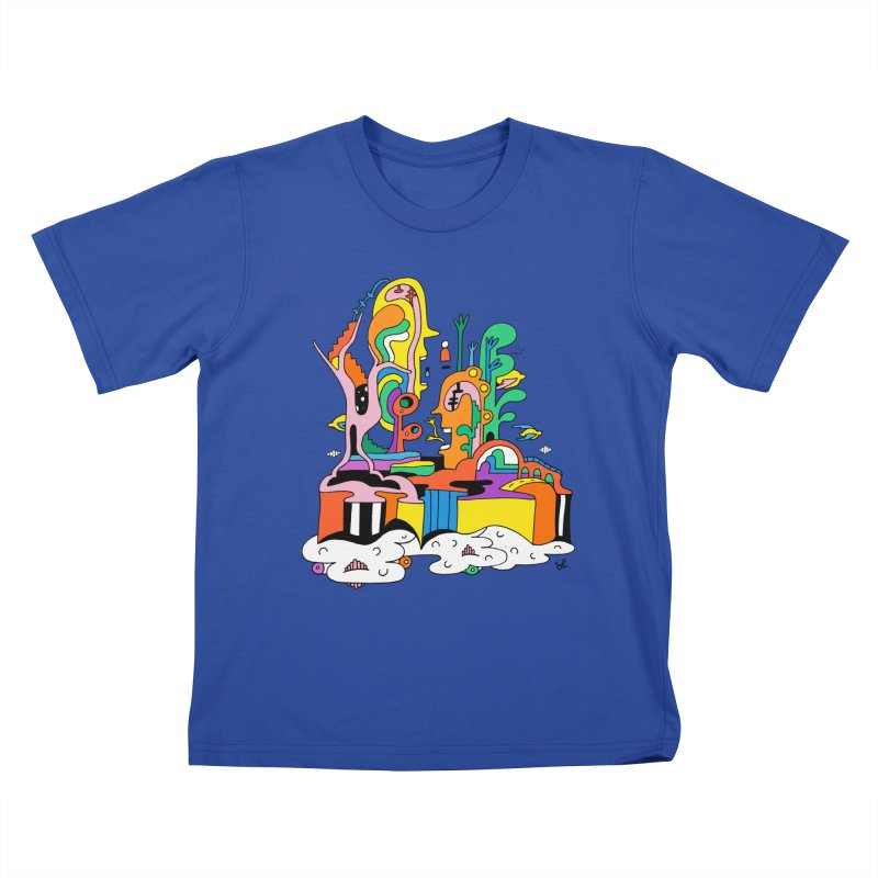 Plant Eaters Kids T-Shirt by Shelby Works