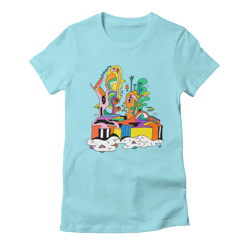 Plant Eaters Women's Fitted T-Shirt by Shelby Works