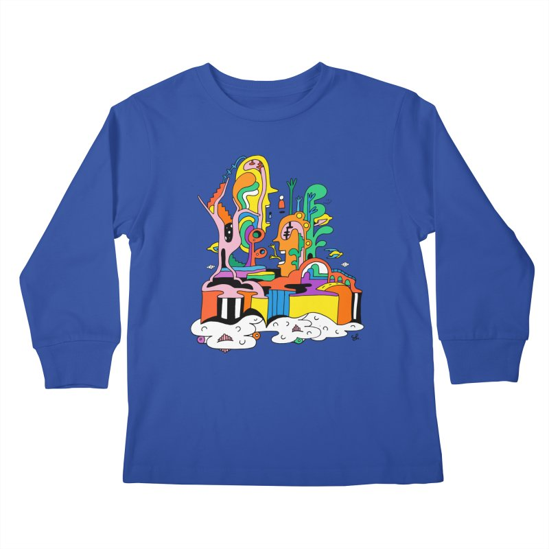 Plant Eaters Kids Longsleeve T-Shirt by Shelby Works