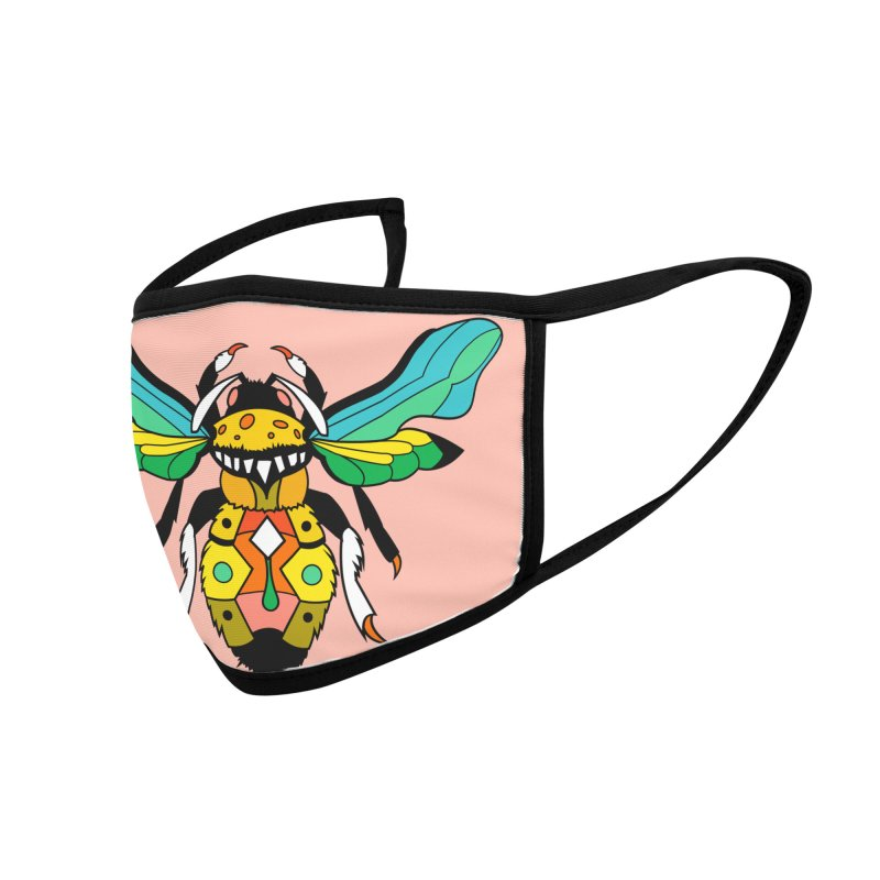 A Bumblebee's Dream to be Unique Accessories Face Mask by Shelby Works