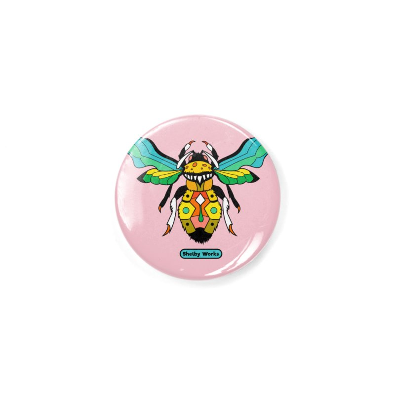 A Bumblebee's Dream to be Unique Accessories Button by Shelby Works