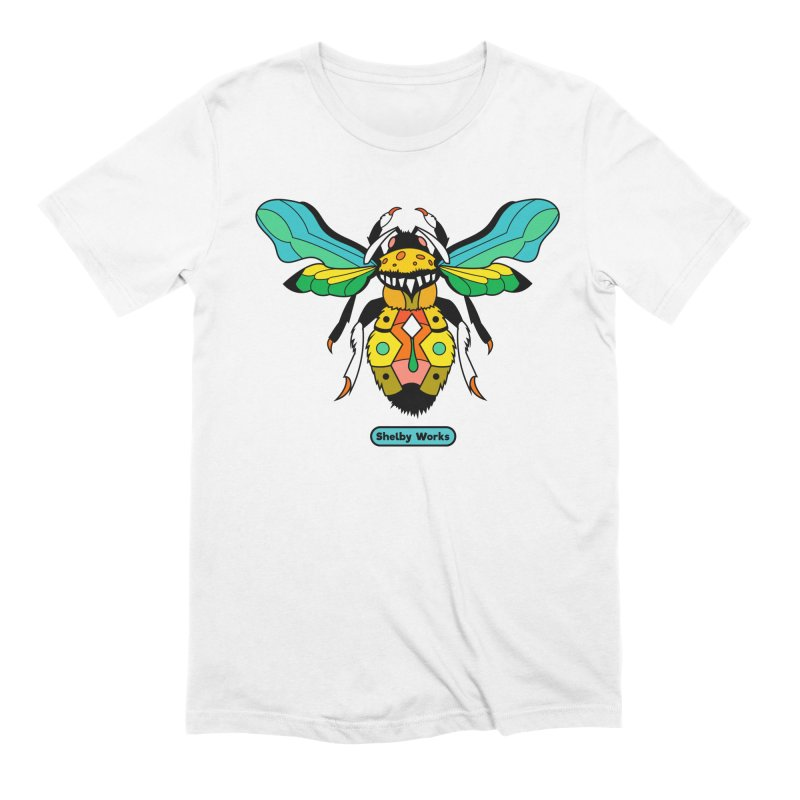 A Bumblebee's Dream to be Unique Men's Extra Soft T-Shirt by Shelby Works