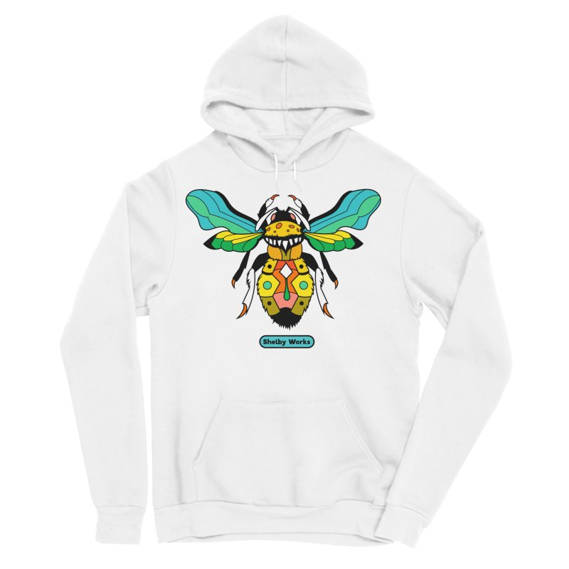 A Bumblebee's Dream to be Unique Men's Sponge Fleece Pullover Hoody by Shelby Works