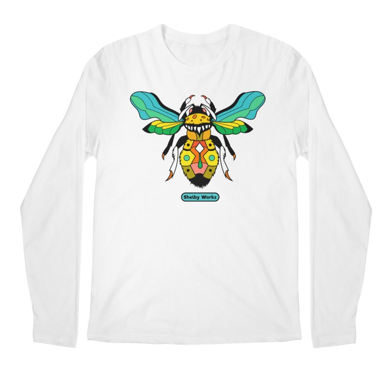 A Bumblebee's Dream to be Unique Men's Regular Longsleeve T-Shirt by Shelby Works