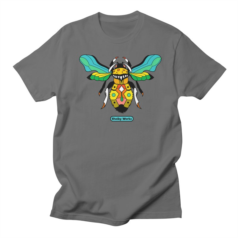A Bumblebee's Dream to be Unique Men's T-Shirt by Shelby Works