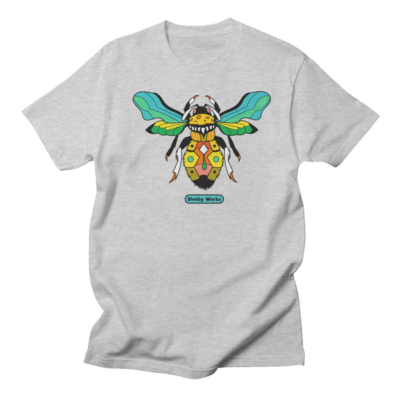 A Bumblebee's Dream to be Unique Men's Regular T-Shirt by Shelby Works
