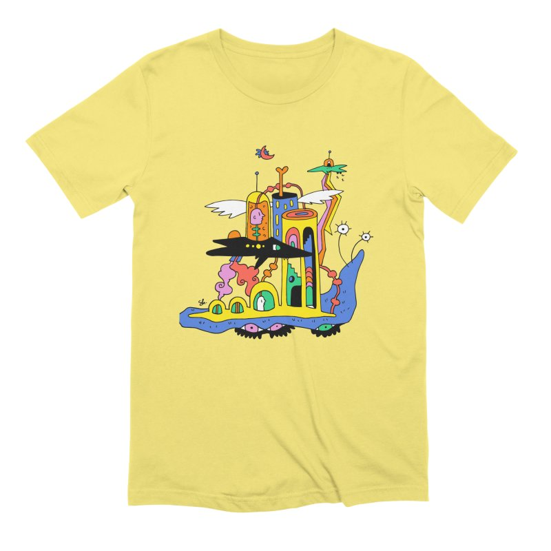 Think Tank Men's T-Shirt by Shelby Works
