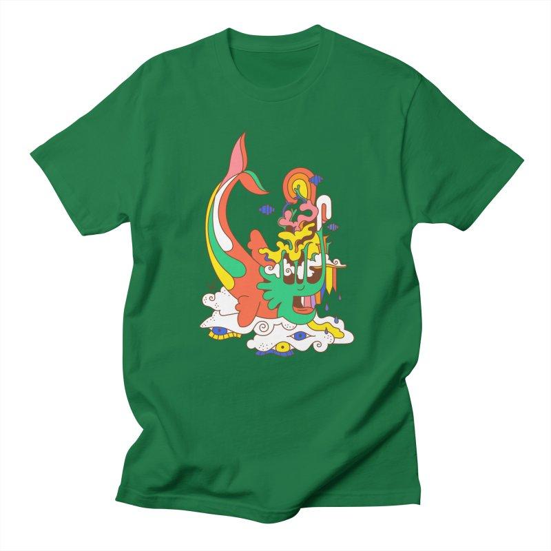 Sleeping Sea Rhino Men's T-Shirt by Shelby Works