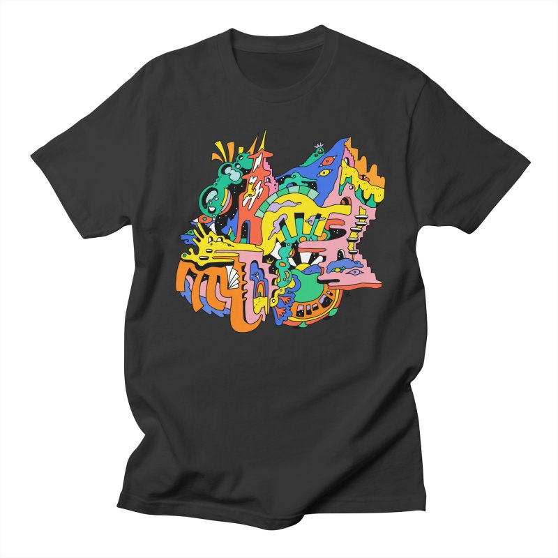 A Starry Night Men's Regular T-Shirt by Shelby Works