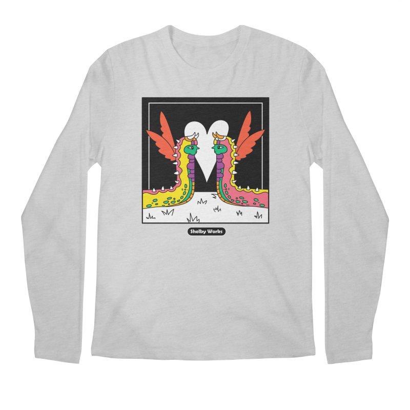 Metamorphic Love Men's Regular Longsleeve T-Shirt by Shelby Works