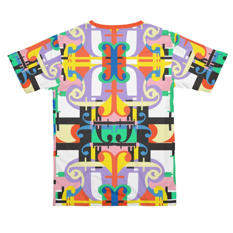 Psychedelic Myriad Men's Cut & Sew by Shelby Works