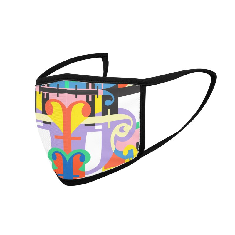 Psychedelic Myriad Accessories Face Mask by Shelby Works