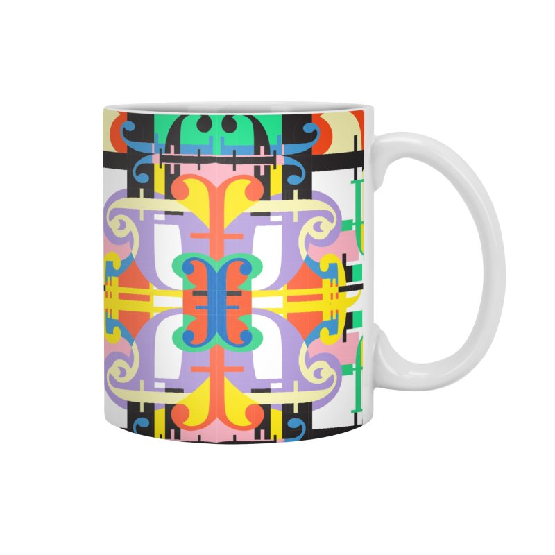 Psychedelic Myriad Accessories Mug by Shelby Works