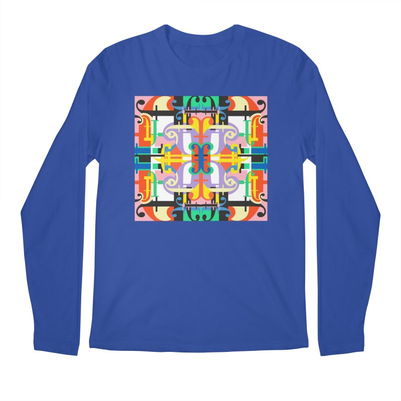 Psychedelic Myriad Men's Regular Longsleeve T-Shirt by Shelby Works