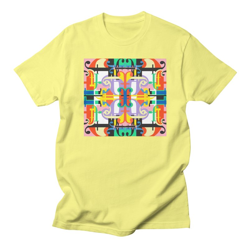 Psychedelic Myriad Men's T-Shirt by Shelby Works