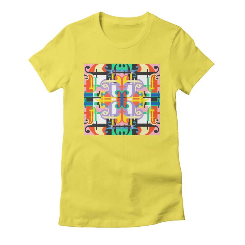 Psychedelic Myriad Women's T-Shirt by Shelby Works