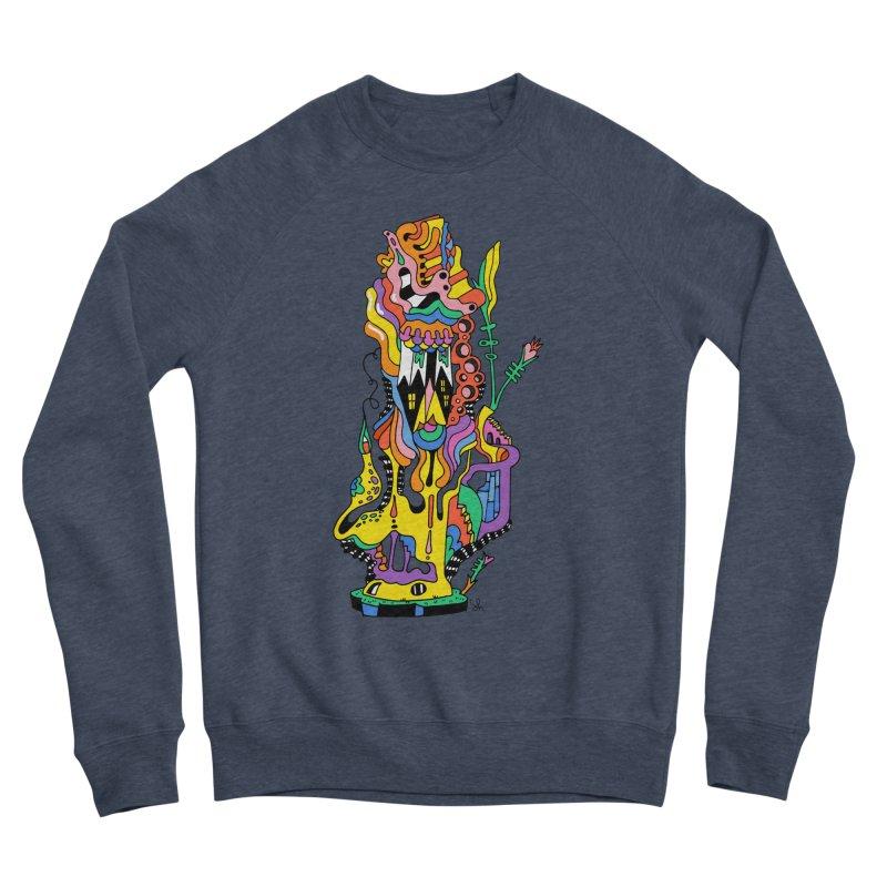 A Hookah Smoking Caterpillar Men's Sweatshirt by Shelby Works