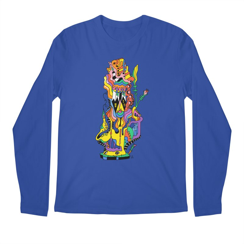 A Hookah Smoking Caterpillar Men's Longsleeve T-Shirt by Shelby Works