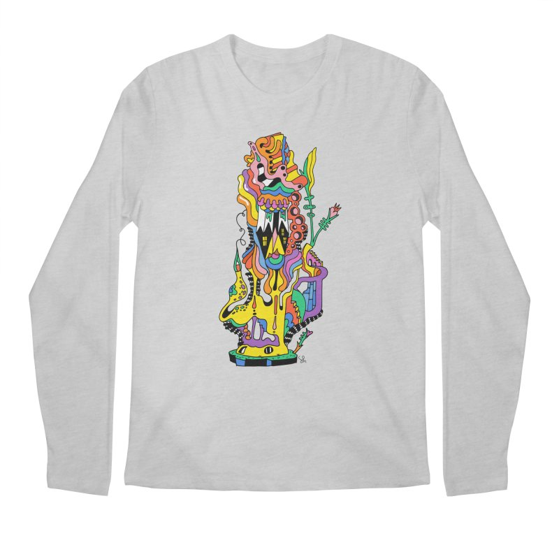 A Hookah Smoking Caterpillar Men's Longsleeve T-Shirt by Shelby Works
