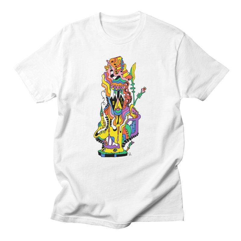 A Hookah Smoking Caterpillar Men's T-Shirt by Shelby Works
