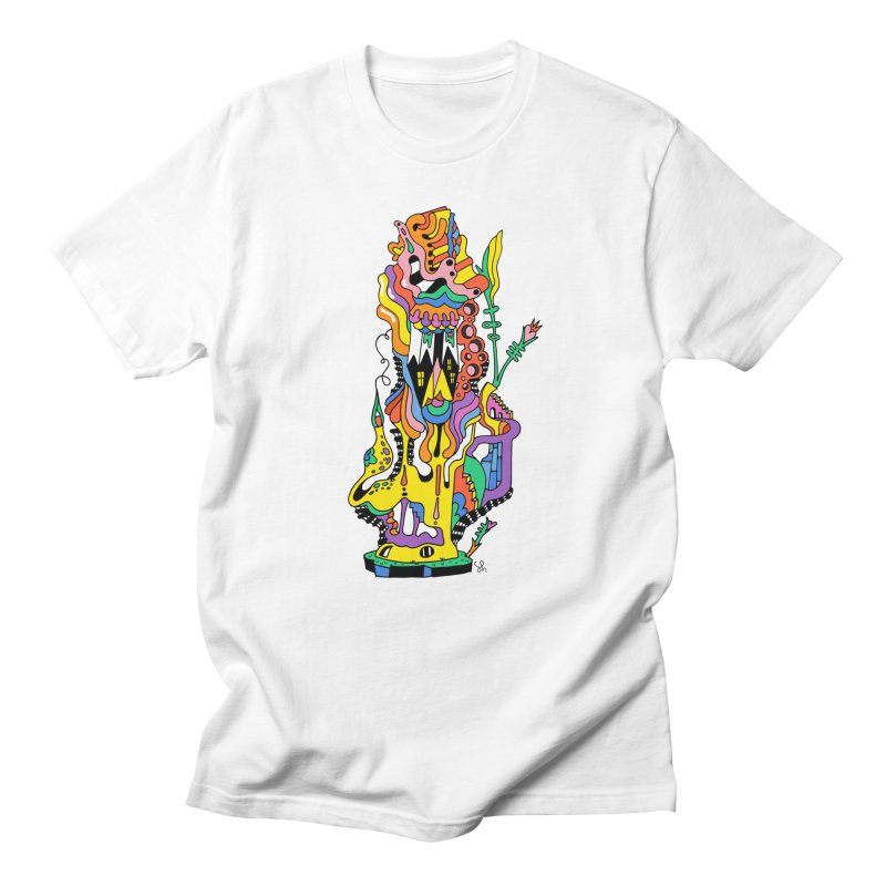 A Hookah Smoking Caterpillar Men's T-Shirt by Shelby Works