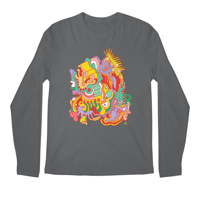 Nebular Oasis Men's Longsleeve T-Shirt by Shelby Works