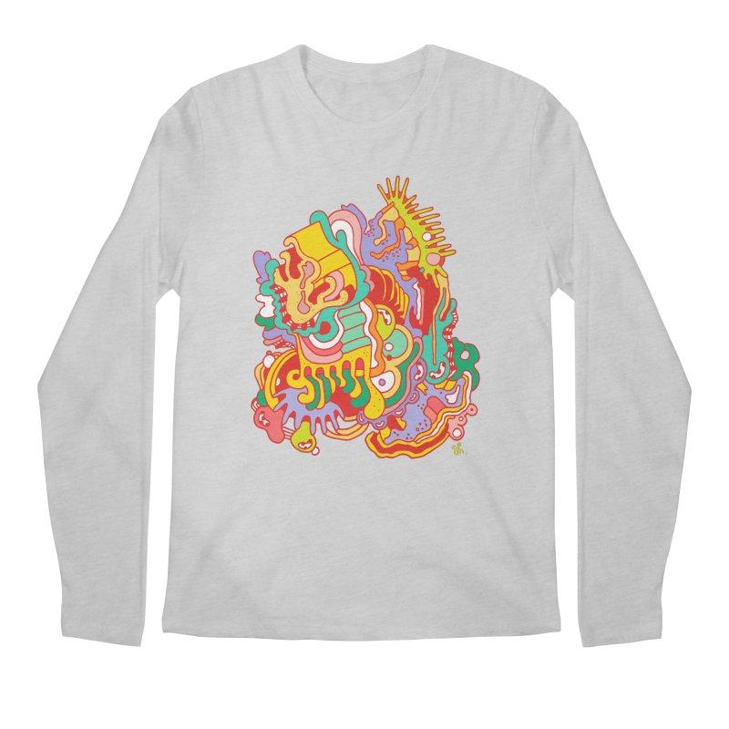 Nebular Oasis Men's Regular Longsleeve T-Shirt by Shelby Works