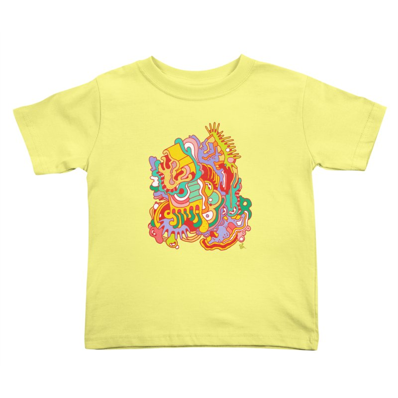 Nebular Oasis Kids Toddler T-Shirt by Shelby Works