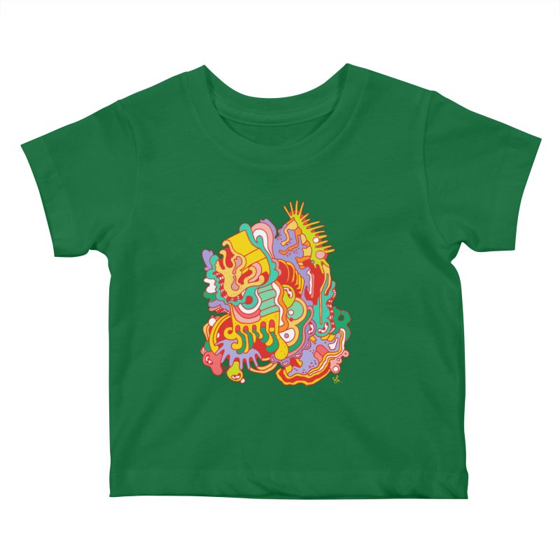 Nebular Oasis Kids Baby T-Shirt by Shelby Works