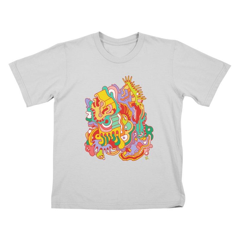 Nebular Oasis Kids T-Shirt by Shelby Works